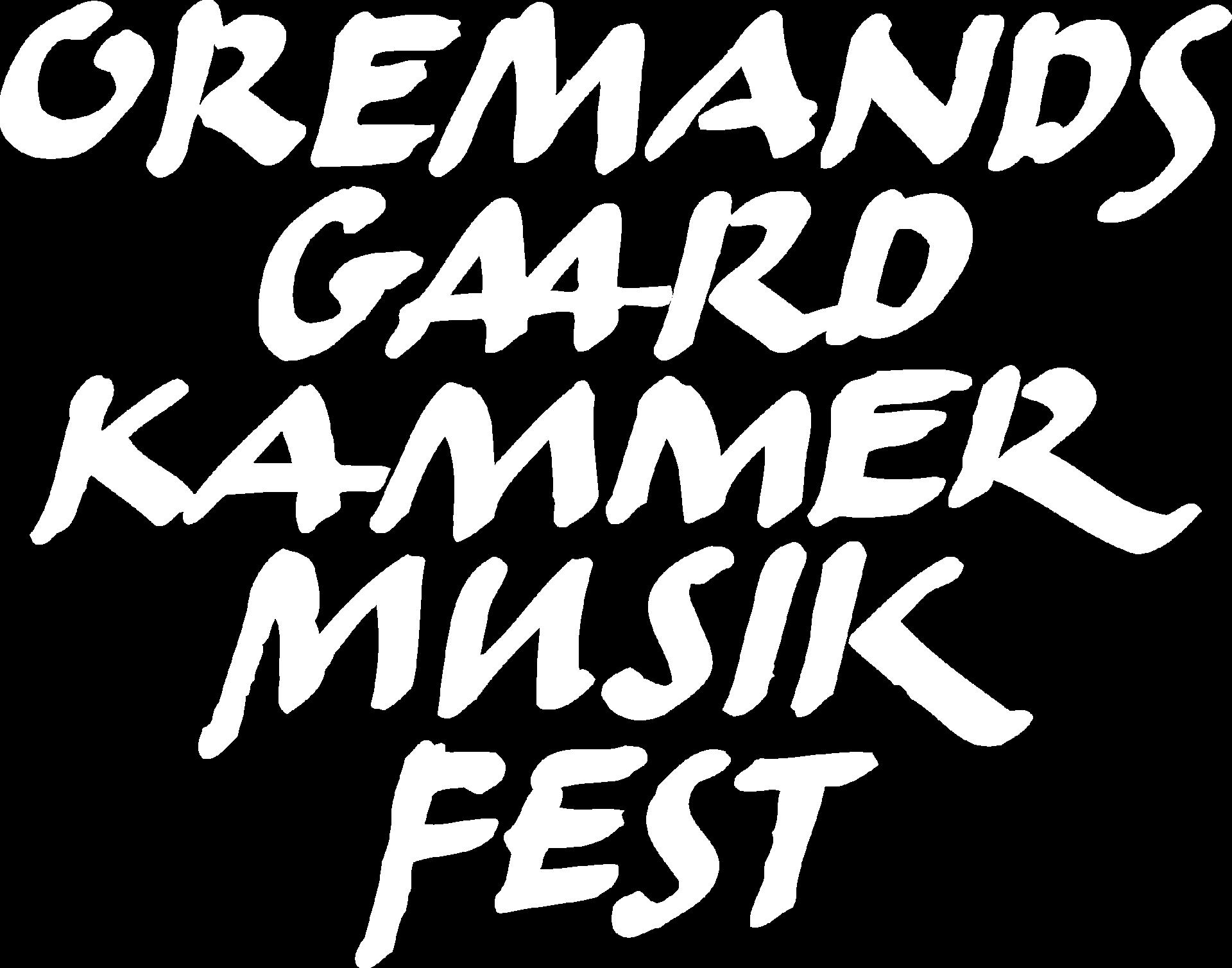 Oremandsgaard Kammermusikfest Nyt website på vej